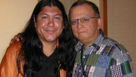 don Jose Ruiz and don Ricardo B Serrano at Day of Transformation, Seattle, Washington, July 31, 2010