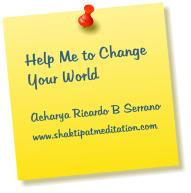 Help me to change your world