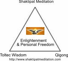 Shaktipat Meditation, Toltec Wisdom and Qigong Triangle